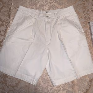 Dockers White Shorts